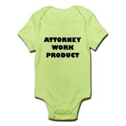 CafePress - Attorney Work Product Baby Body Suit - Baby Light Bodysuit