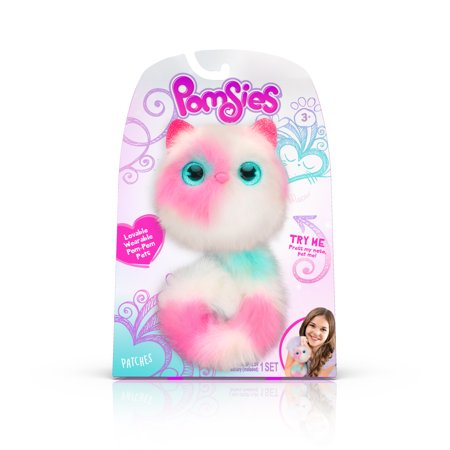 Interactive Set (Pomsies Pet Patches- Plush Interactive Toy)
