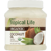 Tropical Life Organic Extra Virgin Coconut Oil, 54.0 FL OZ