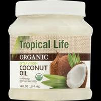 Tropical Life Organic Extra Virgin Coconut Oil, 54.0 FL OZ