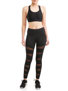 Avia Fashion Crop Legging with Mesh
