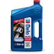 (12 Pack) Chevron Delo 400 SDE SAE 15W-40, 1 GALLON
