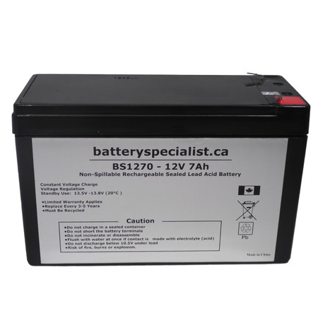 EATON / POWERWARE EVOLUTION 850T - Battery Replacement - 12V 7Ah - image 2 de 2