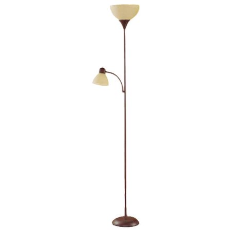 Mainstays 72 Combo Floor Lamp With Adjustable Reading