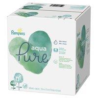 Pampers Aqua Pure Sensitive Baby Wipes 8X Pop-Top 448 Count