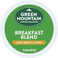 (4 Pack) Green Mountain Coffee Breakfast Blend, Keurig K-Cup Pods, Light Roast, 18 Count
