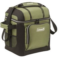 Coleman 30-Can Soft Cooler with Removable Liner, Green