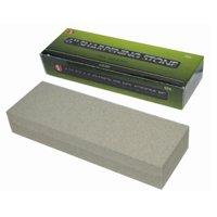 "6"" Aluminium Oxide Sharpening Stone Dual Grit Hone Knife Blade Sharpener Fishing"