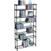 Atlantic 8-Shelf CD/DVD Rack Multimedia Storage Unit