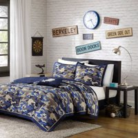 Home Essence Teen Liam Camouflage Coverlet Bedding Set