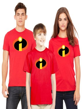 The Incredibles T-shirt Men Women Youth Family Disney Matching (Sold Separately)