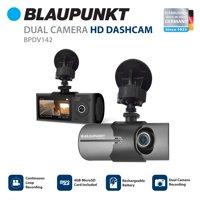 Blaupunkt BPDV142 Car HD Dual Camera DashCam with GPS
