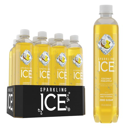 Sparkling Ice, Coconut Pineapple, 17 Fl Oz, 12 Count