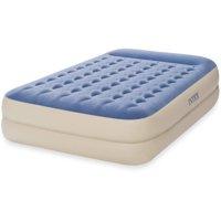 """Intex Queen 18"""" Dura-Beam Standard Raised Pillow Rest Airbed Mattress"""