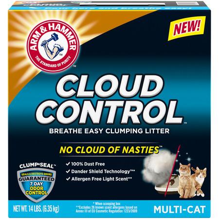 Arm & Hammer Cloud Control Clumping Cat Litter,