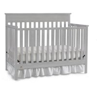 Fisher-Price Newbury 4-in-1 Convertible Crib, Misty Gray