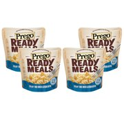 (4 Pack) Prego Ready Meals Creamy Three Cheese Alfredo Rotini, 9 oz.