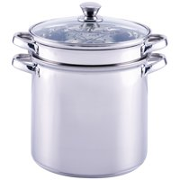 Mainstays 8 Quart Multi-Cooker with Lid, Stainless Steel