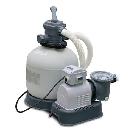 Intex Sand Filter (Intex Krystal Clear 3,000 GPH Above Ground Pool Sand Filter Pump  )