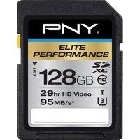 PNY 128GB Elite Performance SDXC 95MB/s Memory Card