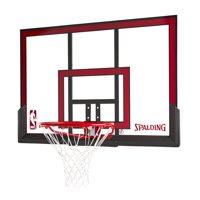 "Spalding NBA 48"" Basketball Polycarbonate Backboard Rim Combo"