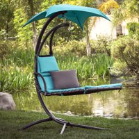 Best Choice Products Hanging Canopy Chaise Loung Chair