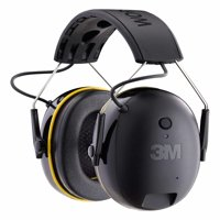3M WorkTunes Connect Hearing Protector with Bluetooth Technology, Built-In Rechargeable Battery, Audio/Voice Assist