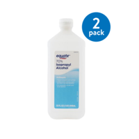 (2 Pack) Equate 70% Isopropyl Alcohol, 32 Oz