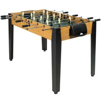 Gymax 48-in Competition Sized Wooden Soccer Foosball Table Deals