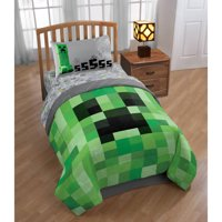 Minecraft Bedding Bed-In-A-Bag with Bonus Tote