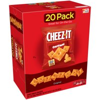 Cheez-It Baked Original Snack Crackers, 1 Oz., 20 Count