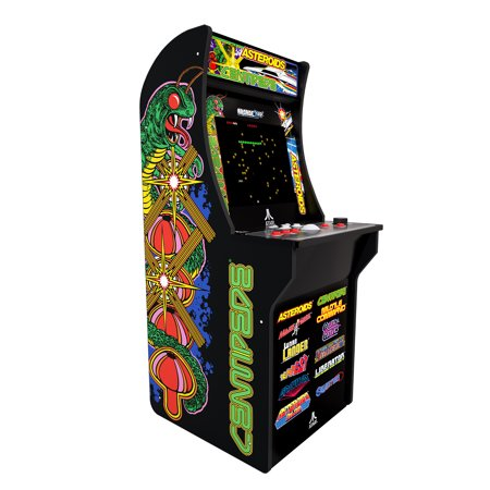 Deluxe 12-in-1 Arcade Machine with Riser, Arcade1UP, Atari Graphics (Game Machine)