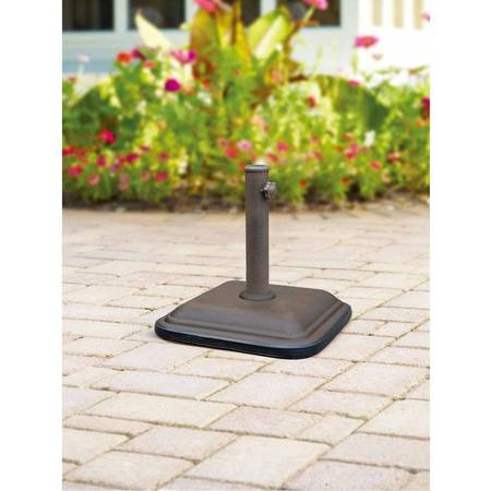 Mainstays Lawson Ridge Powder Coated Steel Umbrella Base ()