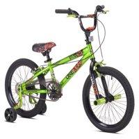 "Avigo 18"" Boys', One Eight BMX Bicycle, Green, For Ages 6-9"