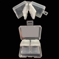 YUNEEC Typhoon H Quadcopter Drone Memory Card Clear Plastic Case - Fits 8 SD Cards - Includes 2 MicroSD Card Slots