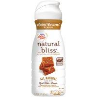 COFFEE-MATE NATURAL BLISS Salted Caramel All-Natural Liquid Coffee Creamer 16 fl. oz. Bottle
