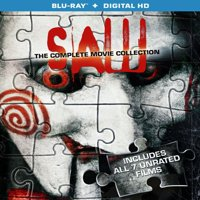 Saw: The Complete Movie Collection (Blu-ray + Digital HD)