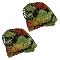 Blazing Needles U-Shape Outdoor 16 x 16 in. Chair Cushions - Set of 4