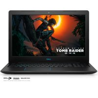 "Dell G3 Gaming Laptop 15.6"" Full HD, Intel Core i7-8750H, NVIDIA® GeForce® GTX 1050 Ti 4GB, 1TB HDD + 16GB Intel Optane Storage, 8GB RAM, G3579-7283BLK-PUS Gaming Bundle included"