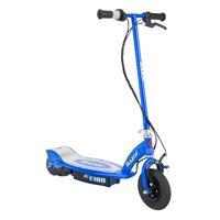 Razor E100 Motorized 24 Volt Rechargeable Electric Power Kids Scooter, Blue
