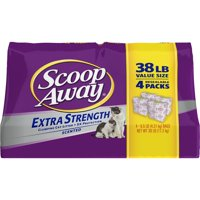 Scoop Away Extra Strength, Scented Cat Litter, 38 lbs