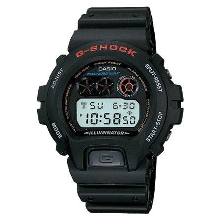 Casio - Casio Men s G-Shock Stainless Steel Digital Watch, Black Resin  Strap - Walmart.com 67abac855c