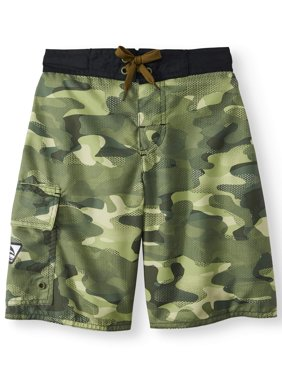 Digi Camo Swim Trunks (Big Boys)
