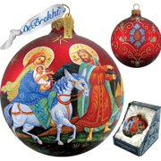 G Debrekht Nativity Ball Ornament