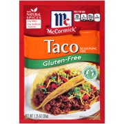 (4 Pack) McCormick Gluten Free Taco Mix, 1.25 oz