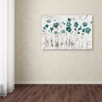 "Trademark Fine Art ""Abstract Balance VI Blue"" Canvas Art by Lisa Audit"