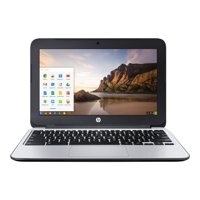 "HP Chromebook 11 G3 Intel Celeron N2840 X2 2.58GHz 2GB 16GB 11.6"", Gray (Certified Refurbished)"