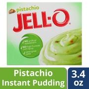 (4 Pack) Jell-O Pistachio Instant Pudding, 3.4 oz Box