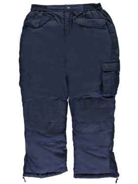 "iXtreme Big Boys' ""Puffy Pocket"" Insulated Snowpants (Sizes 8 - 20)"