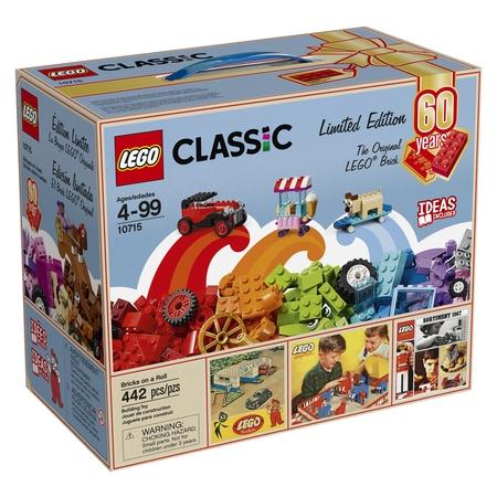 LEGO Classic Bricks on a Roll 10715 - 60th Anniversary Limited Edition](Brick Tamland)